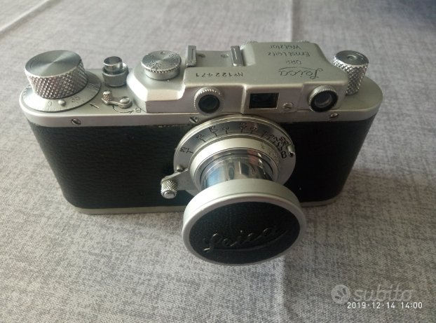 Fotocamera fed copia leica 3a