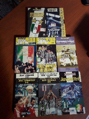 VHS varie Juventues e Italia