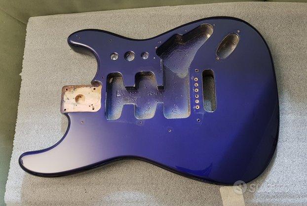 Body Fender Stratocaster Mexico 1996 Metallic Blue