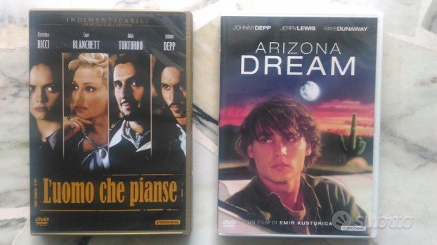 DVD Johnny Depp Arizona Dream L'uomo che pianse