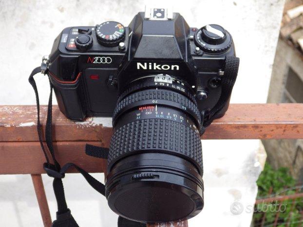 NIKON N 2000 con TOKINA 28-70 F:4 Fisso