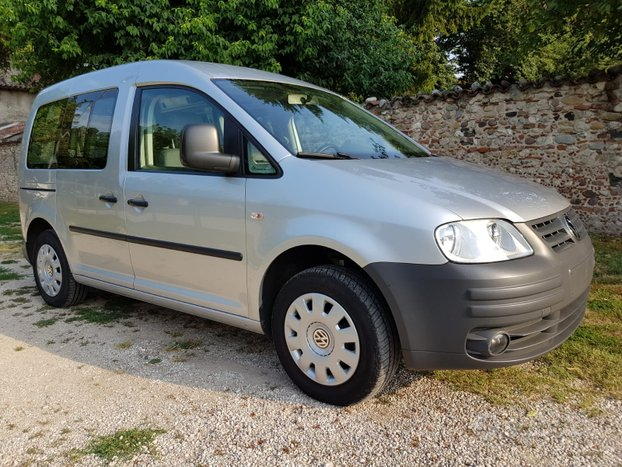 Vw caddy 2.0 metano + gancio traino