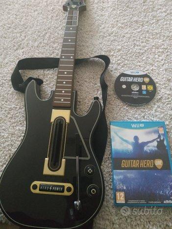 Gioco Wii U Guitar Hero live
