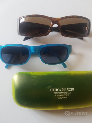 Occhiali vintage colorati sting Made in italy