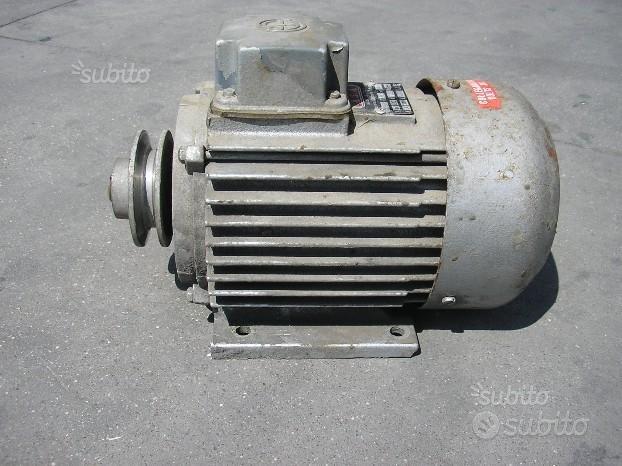 Motore Elettrico USATO TRIFASE 1,5 Hp 2800 Giri