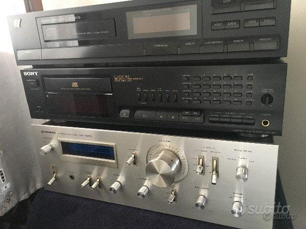 Riparazione casse e apparecchi Audio HiFi vintage