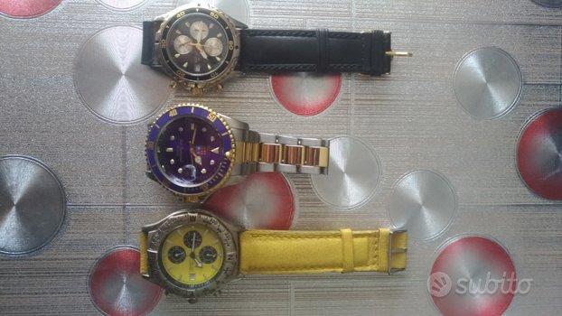 Tre orologi al quarzo