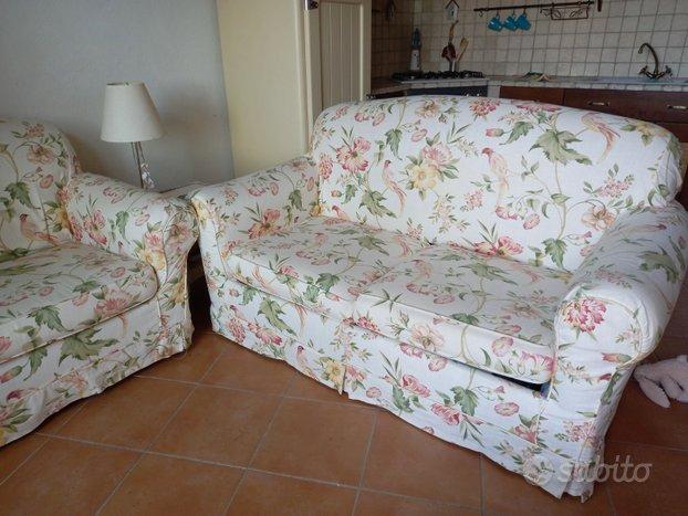 Coppia divani letto stile provenzale country