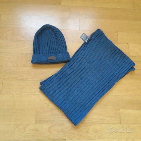 Sciarpa e cappello uomo Cotton Silk - NUOVI