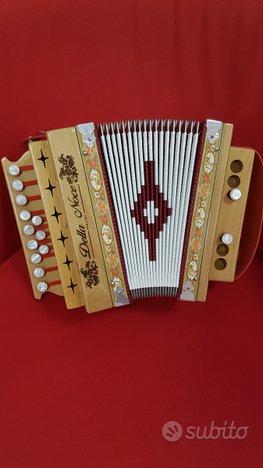Organetto 2 bassi Della Noce PENNESE in Sol.Nuovi