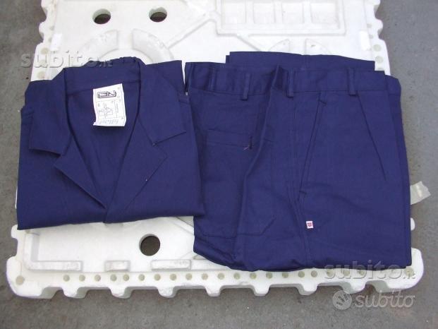 Salopette e giacca da lavoro