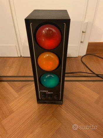 Semaforo luci musica disco Three Light