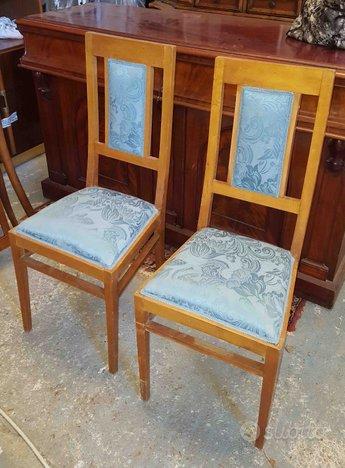 Coppia sedie d 39 epoca rifoderate arredamento e casalinghi for Subito it agrigento arredamento e casalinghi