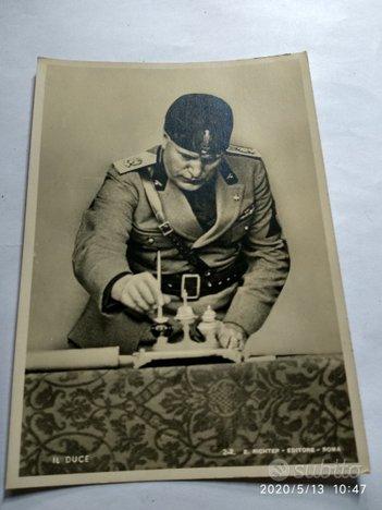 Foto originali di Benito Mussolini