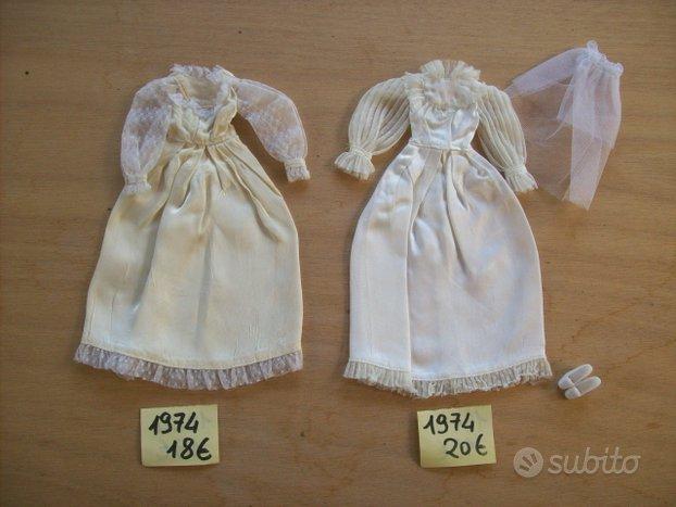 Abiti originali Barbie, anni 60,70, 80