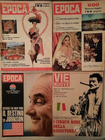 Epoca, supplementi e inserti anni '50 - '60