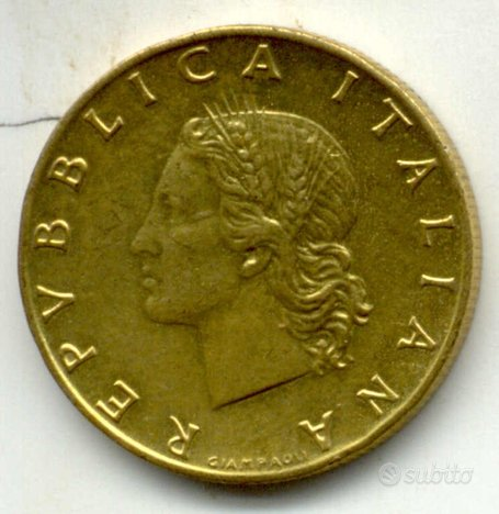 20 lire fdc 1995 - 97 - 99 - 01