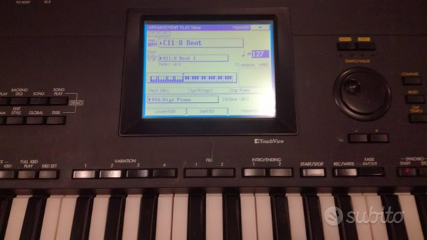 Tastiera KORG I30 Workstation Arranger Piano