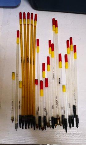 24 Galleggianti a penna per pesca alla Bolognese