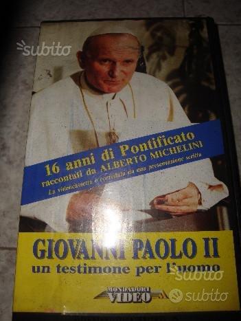 Videocassetta Giovanni Paolo II 16 anni di papato