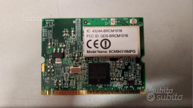Scheda di rete wireless wifi broadcom bcm94318mpg