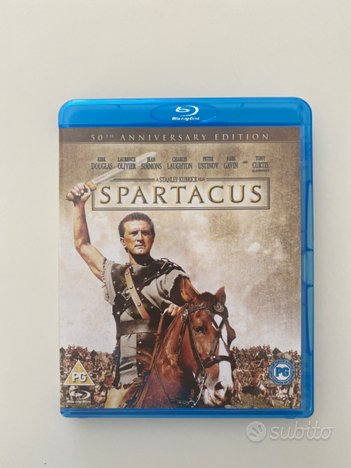 Spartacus film Blu-ray ITALIANO *NUOVO