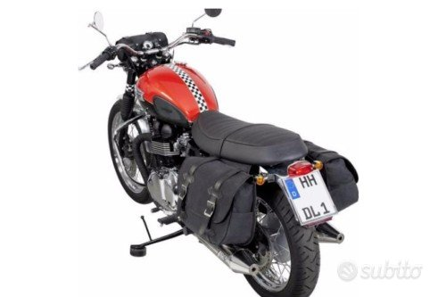 Bisacce Moto Coppia Borse Custom cafe racer Sotto