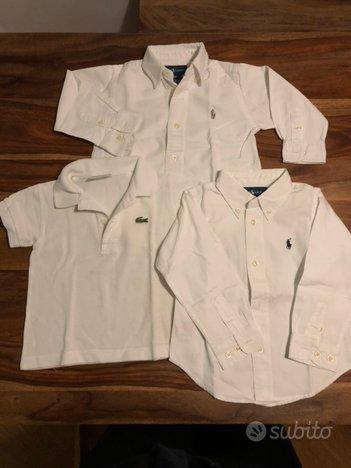 Camicie e Polo Lacoste Ralph Lauren 12 18 24 mesi