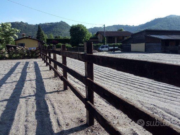 Staccionate per recinzioni cavalli e agricole