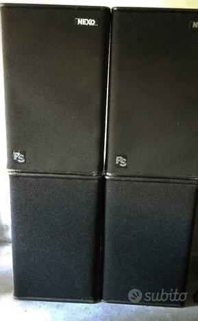 Impianto di amplificazione Nexo PS15 RIBASSO