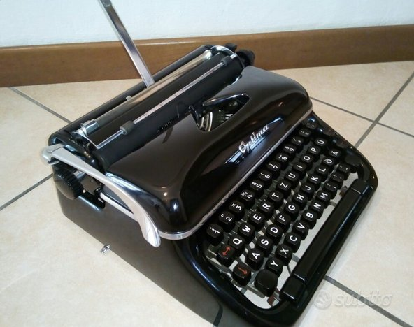 Macchina da scrivere Optima Elite N.3 portatile -