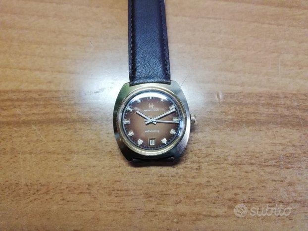 Orologio Hamilton Vintage Oro Automatico