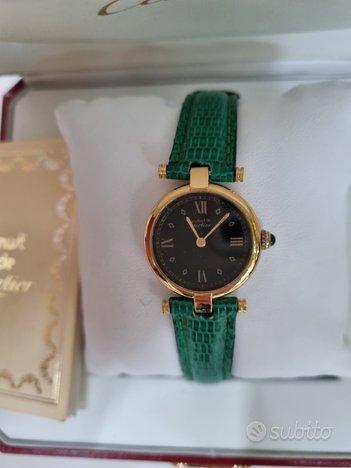 Cartier Must De dorato Vermeil