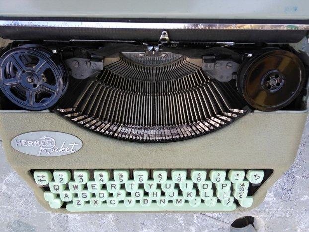 macchina da scrivere hermes rochet