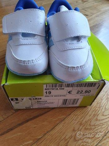 Scarpe neonato numero 19