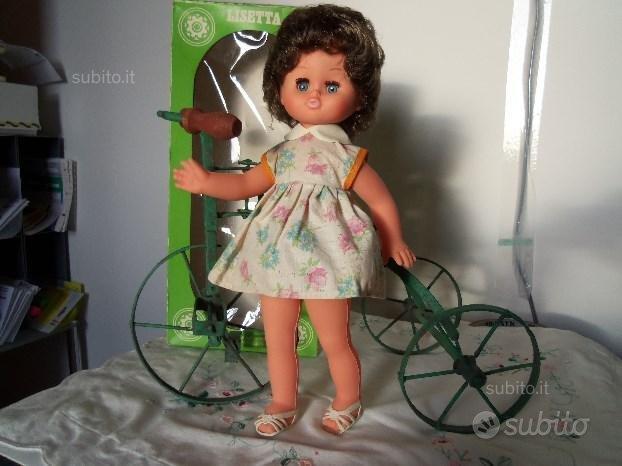 EFFE-Bambole-FRANCA Lisetta con TRICICLO-