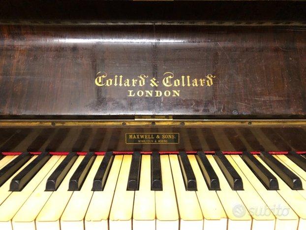 Elegante pianoforte di fine 1800