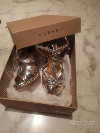Sandalo Albano argento