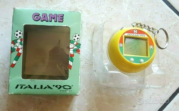 Cititronics game italia '90 calcio gadget