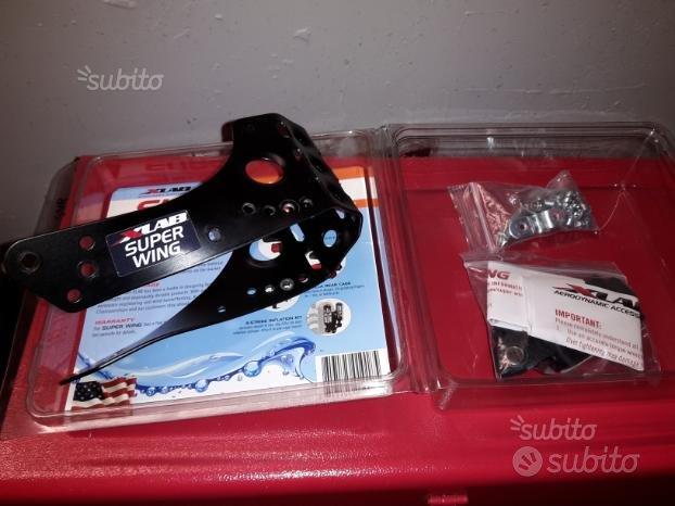 Xlab Super Wing portaborraccia porta attrezzi bici