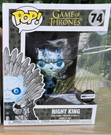 Funko Pop Game of Thrones Night King on the Iron