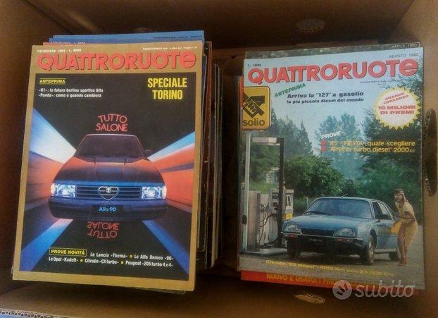 Riviste Quattroruote 1980-2010