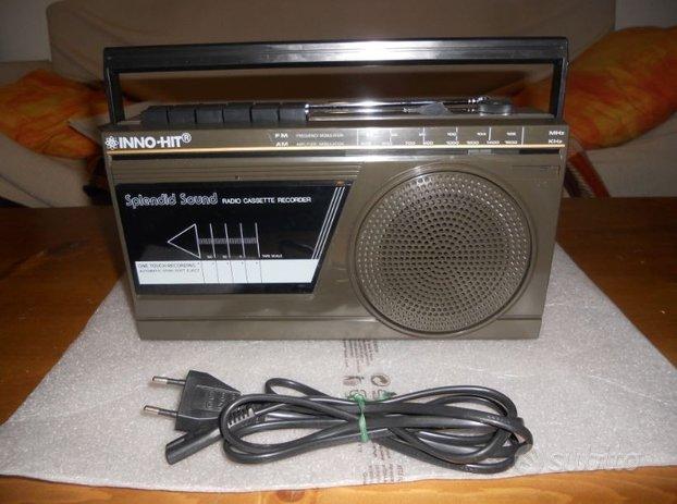 Inno hit rr-611 registratore a cassette+radio
