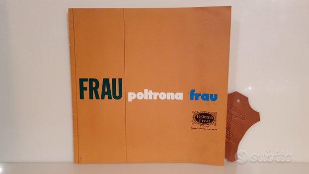 POLTRONA FRAU BROCHURE ANNI 60/70 c.a