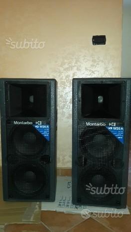 Impianto audio Montarbo + mixer 24 canali Montarbo
