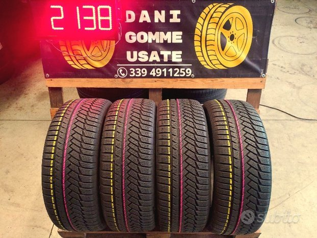 4 Gomme CONTINENTAL 235 55 17 INVERNALI 85%