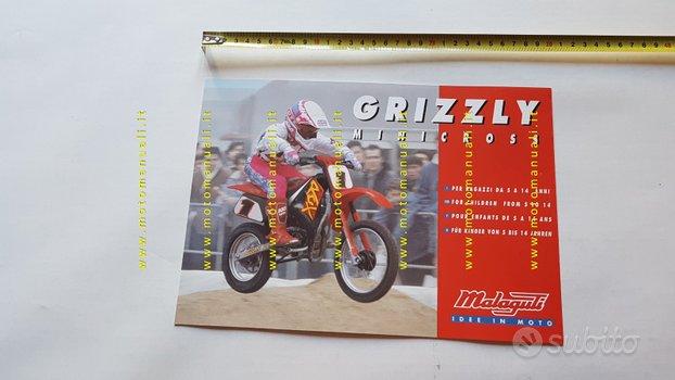 Malaguti Grizzly RCX 10\12 minicross 2000 depliant