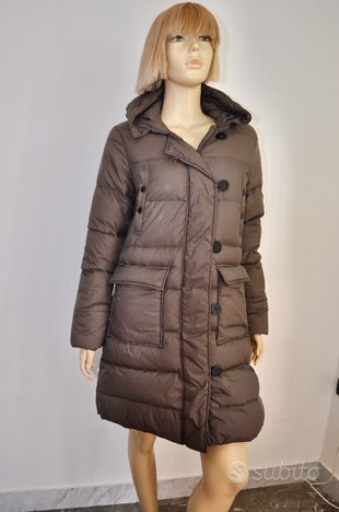 MONCLER Giacca Cappotto Piumino Lungo Jacket