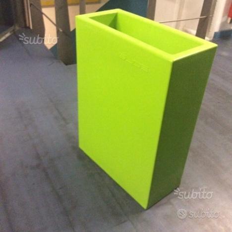 Vaso SLIDE Base Pot Verde,Slide