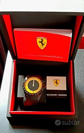 Orologio Fan Watch Scuderia Ferrari 10720 NUOVO